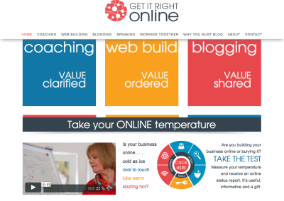 Get It Right Online – editing and web content
