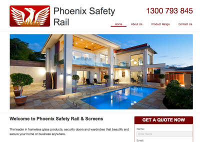 Phoenix Safety Rails – web content