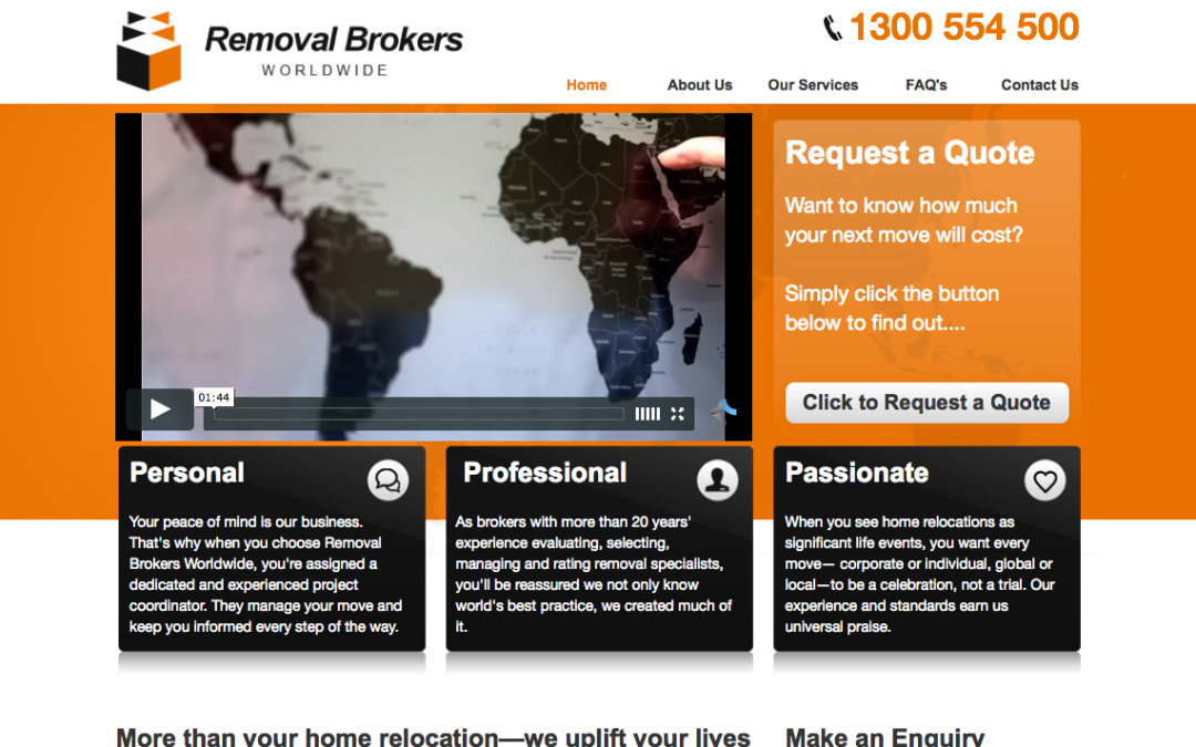 Removal Brokers Worldwide – web content