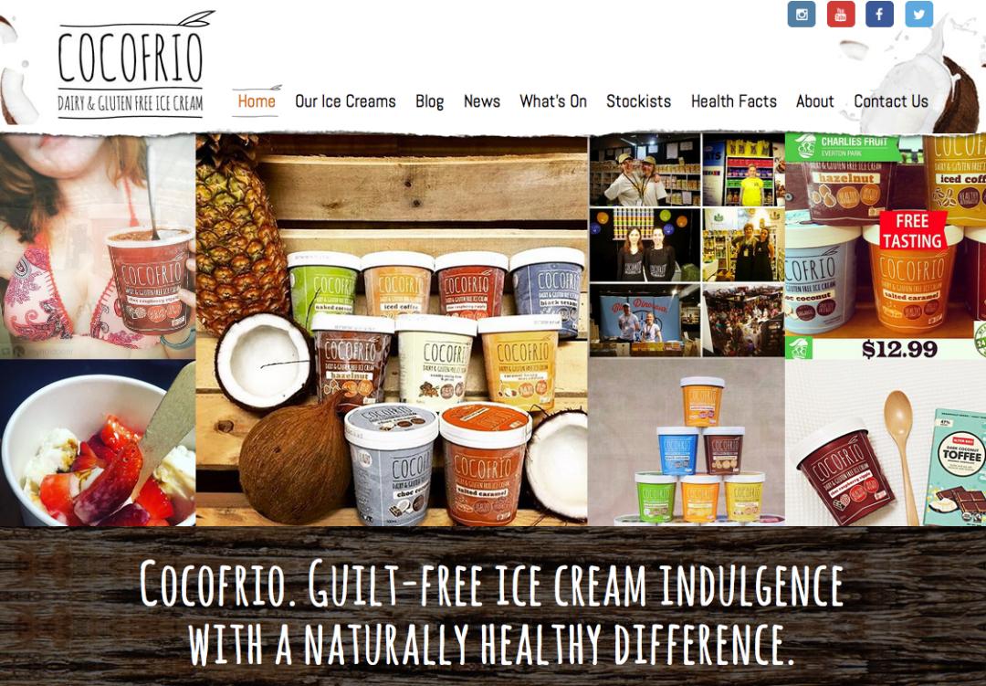 Cocofrio —web content