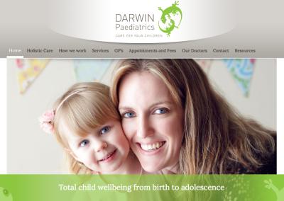 Darwin Paediatrics – web content