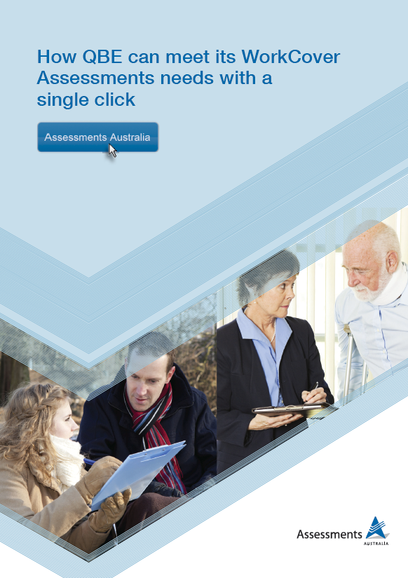Assessments Australia QBE insurance brochure